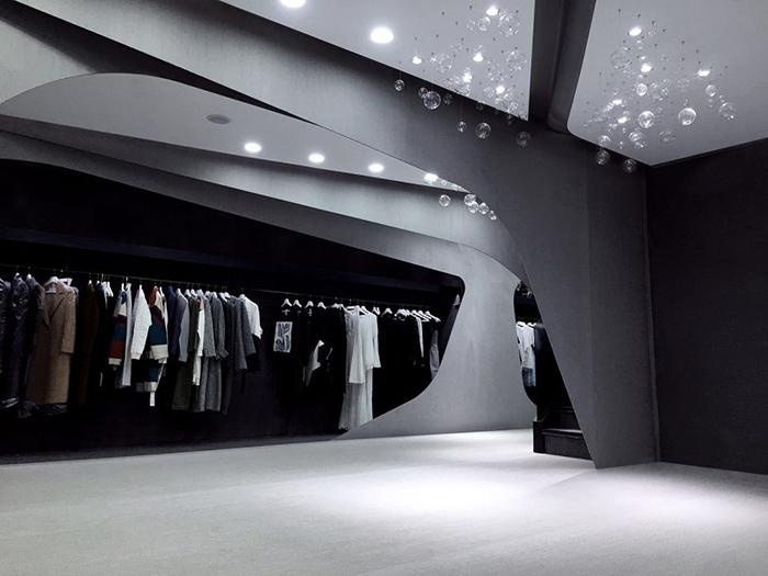 """服装中的立体裁剪见多了,才知道服装店也可以被""""立体裁剪"""""""